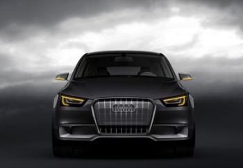 Frontalansicht des Audi A1 Conceptcars 2008